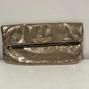 VS Sparkly Gold Clutch Bag 🎉